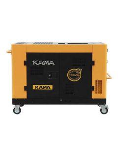 GROUPE ELECTROGENE KAMA KDE 6500T3 6 KVA 380V DIESEL