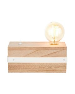 LAMPE A POSER WOOD