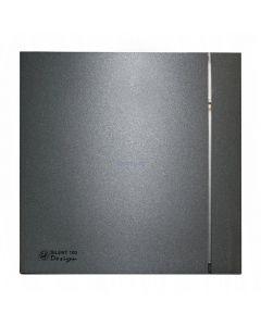 EXTRACTEUR  SILENT -100 CZ  DESIGN-4C 230V NOIR