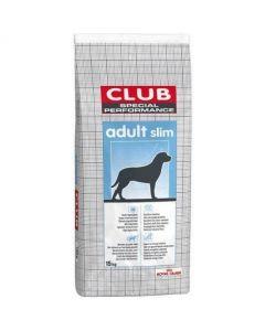 CROQUETTES POUR CHIENS ADULTES CLUB ADULT SLIM 15KG