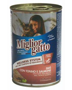 Miglior gatto PATE CHAT THON SAUMON 400g
