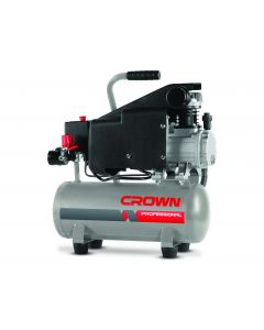 COMPRESSEUR A  AIR  1HP 80L/MIN CROWN 9L REF CT36046