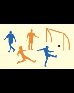 POCHOIRS  DECORATIFS  FOOTBALL