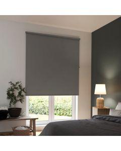 STORE ENROULEUR BLACKOUT GRIS 180 x 180 cm