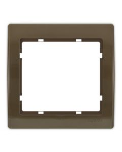 Plaque simple Cappucino Jade
