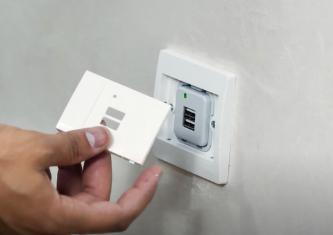 Comment installer un hublot led, une prise USB et un interrupteur INGELEC
